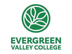 Evergreen Valley College logo for resources page