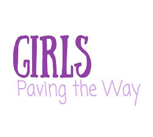 Girls Paving the Way Program Logo